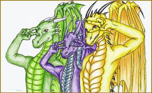 Dragon champloo by Ruchiel