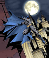 Gotham in night by StarBug81