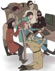 (Draw The Squad) Da Fallout 4 Crew by dasagoo
