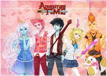 Adventure Team by myetie