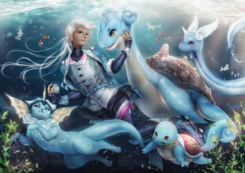 Mystic Elite: Blanche by myetie
