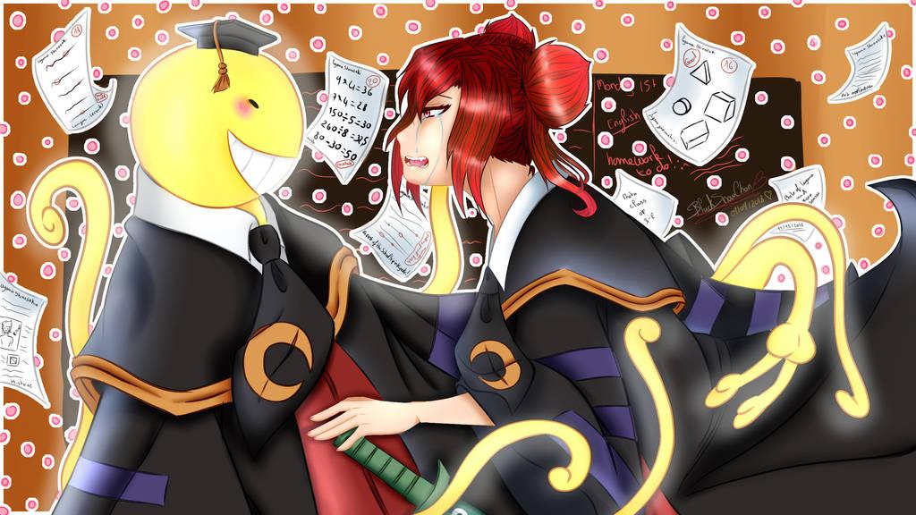 you are back Koro sensei! by BlackSnowChan