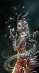 The moth by Elda-QD