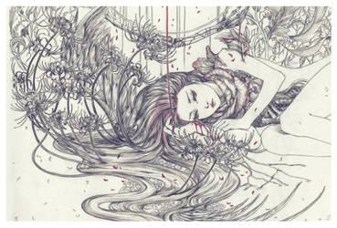 Death flower by Elda-QD