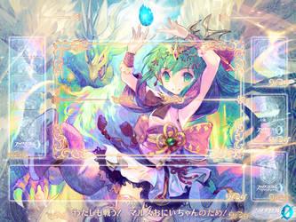 playmat Tiki by FlowersOfSakura