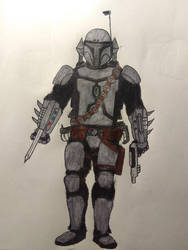 Probably me if I was a Mando by Plus2Renegade