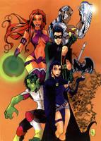 Teen Titans...GO by roxcola