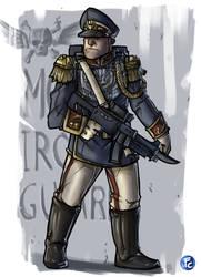 Mordian Soldier by LordCarmi