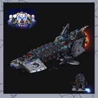 Strike Cruiser Carcharodons by LordCarmi