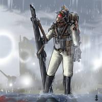 Arch-Duke Vaurus Polten's Grim Guard by LordCarmi