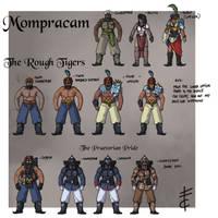 Mompracam Uniforms by LordCarmi
