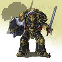 Imperial Fists Legion Templar Brethren by LordCarmi