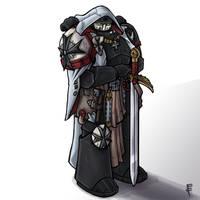 Black Templar by LordCarmi