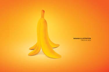 Banana Illustration by creative-box