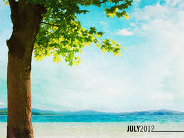 July 2012 Wallpaper by bionikdesign