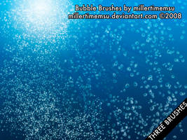 Water Bubbles Brush by photoshopcc
