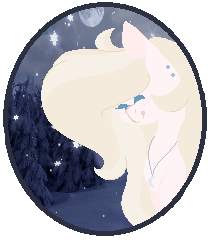 Winter Moon Icon by MidNight--Galexey