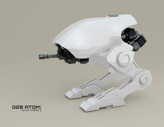 G20 ATOM scout walker W.I.P. 2 by ephebox