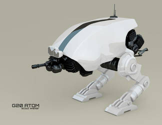 G20 ATOM scout walker W.I.P. 3 by ephebox