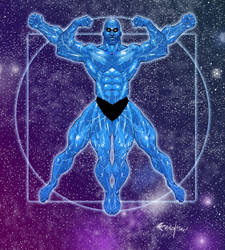 Dr. Manhattan by Franchesco