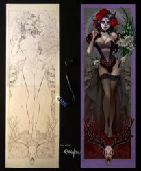 La Mujer De La Muerte by Franchesco