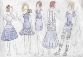 TARDIS dress set by Szeth