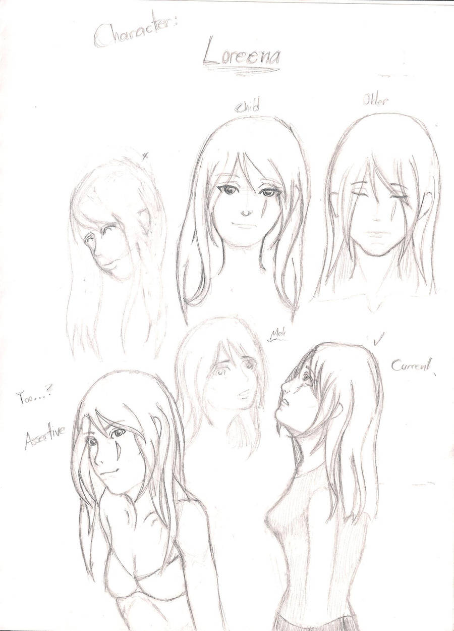 OC Creation 1 - Loreena by Virin-Otoyomi