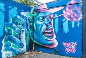 Empty Head, Street Art, London by deepgrounduk