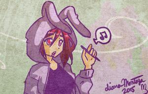 bunny hoodies by yume