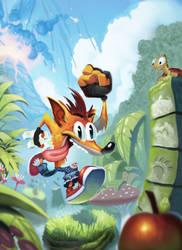 Crash Bandicoot by Henkkab