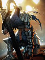 Knight Artorias by Henkkab