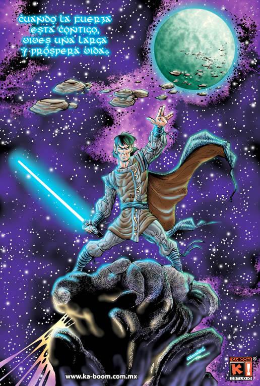 Vulcan Jedi by Saskunah