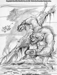 Werewolf by Saskunah