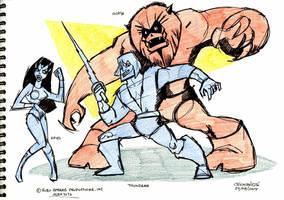 Thundarr the Barbarian by Saskunah