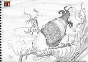 The Paradox Snail by Saskunah
