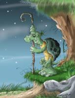 Oogway 2 by Saskunah