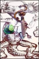 Lone Jellymander by eorhythm