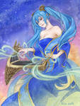 Sona - League Of Legends by AlisaHalloween313th