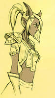 WoW: Repakuku sketch 00 by ryumo