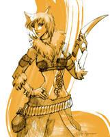Lamp RPG: Nekocsh the Rogue by ryumo