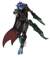 WoW: Mayday the Death Knight by ryumo