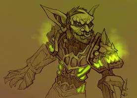 WoW: Goblin sketch by ryumo