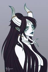 WoW: Draenei Witch by ryumo