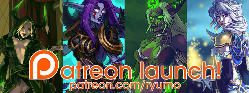 Patreon Launch! by ryumo