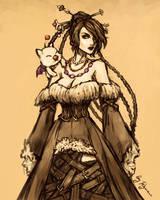 FFX: Lulu quickie by ryumo