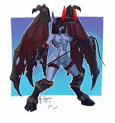 HotS: Jaina Dreadlord (nsfw) by ryumo