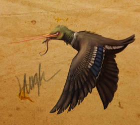 Bestiary #003: Radioactive Duck by LaufingIdiot