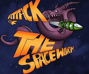 Spaceworm by LaufingIdiot