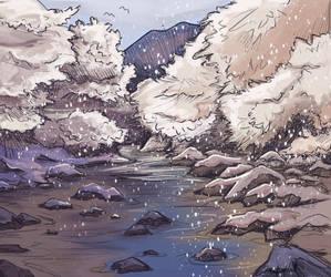 Snowy River by LaufingIdiot
