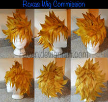 Commission::Roxas Wig by Faxen